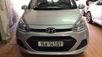 Bán Hyundai Grand i10 sản xuất năm 2014, màu bạc, nhập khẩu nguyên chiếc chính chủ