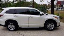 Chính chủ bán Toyota Highlander AT đời 2014, màu trắng, nhập khẩu