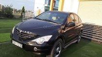 Cần bán lại xe Ssangyong Actyon đời 2006, màu đen, xe nhập, giá 350tr
