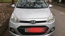 Cần bán xe Hyundai Grand i10 sản xuất năm 2014, màu bạc, nhập khẩu nguyên chiếc