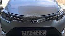 Bán ô tô Toyota Vios 1.5E năm sản xuất 2014, màu bạc
