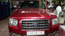 Bán Ford Everest 2.5L 4x2 MT năm 2008, màu đỏ số sàn