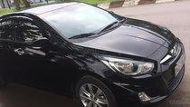 Cần bán Hyundai Accent 1.4 MT sản xuất năm 2012, màu đen, xe nhập, giá 355tr