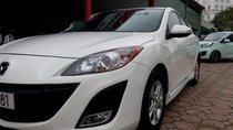 Cần bán lại xe Mazda 3 đời 2010, màu trắng, xe nhập, 430tr