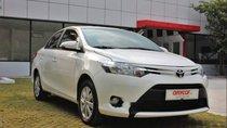 Bán Toyota Vios E 1.5AT sản xuất năm 2017, màu trắng, xe nguyên bản, tình trạng hoàn hảo