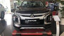 Bán Mitsubishi Triton 4X2 AT đời 2019, màu xám, xe nhập