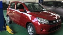 Cần bán xe Suzuki Celerio 1.0 MT 2018, màu đỏ, giá 329tr