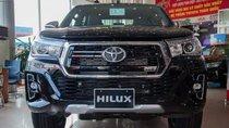 Bán Toyota Hilux đời 2019, màu đen, xe nhập