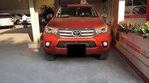 Bán Toyota Hilux 2.8G 4x4 AT sản xuất 2016, màu vàng, nhập khẩu số tự động