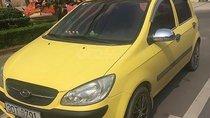 Bán Hyundai Getz 1.1 MT đời 2009, màu vàng, nhập khẩu
