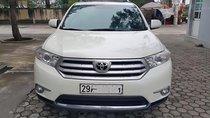 Cần bán Toyota Highlander SE 2.7 đời 2011, màu trắng, nhập khẩu như mới