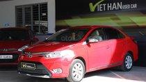 Bán Toyota Vios E 1.5MT sản xuất 2014, màu đỏ