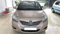 Cần bán Toyota Vios 1.5 E sản xuất năm 2012, màu vàng kem