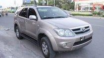 Cần bán lại xe Toyota Fortuner 3.0 G đời 2008, màu bạc