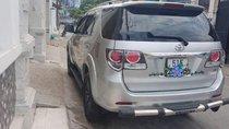 Cần bán xe Toyota Fortuner năm 2015, màu bạc, giá tốt