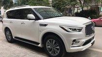 Bán ô tô Infiniti QX80 sản xuất 2018, màu trắng, nhập khẩu nguyên chiếc
