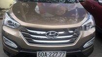 Cần bán Hyundai Santa Fe 2.2 năm 2015, màu nâu