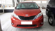 Bán ô tô Toyota Sienna LE 2.7 năm sản xuất 2010, màu đỏ, nhập khẩu