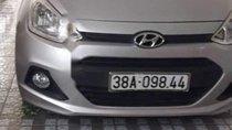Cần bán Hyundai Grand i10 MT đời 2014, màu bạc, nhập khẩu, ĐK 2015
