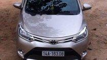 Cần bán gấp Toyota Vios năm 2015, màu bạc chính chủ, giá 445tr