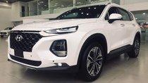 Bán xe Hyundai Santa Fe sản xuất năm 2019, màu trắng