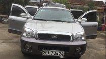 Bán Hyundai Santa Fe năm 2004, màu bạc, nhập khẩu nguyên chiếc xe gia đình, giá tốt