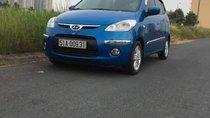 Bán ô tô Hyundai i10 đời 2009, màu xanh lam, nhập khẩu, giá tốt