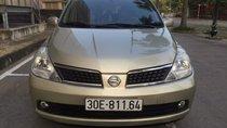 Cần bán gấp Nissan Tiida đời 2008, màu bạc, xe nhập, giá tốt