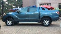 Bán Mazda BT 50 3.2AT đời 2014, màu xanh, xe nhập, chính chủ