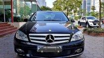 Cần bán gấp Mercedes C230 đời 2009, màu đen giá cạnh tranh