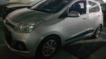 Bán Hyundai Grand i10 1.0AT đời 2015, màu bạc, nhập khẩu
