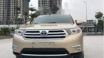 Bán Toyota Highlander SE 2.7 2011, màu vàng số tự động