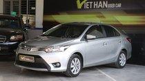 Cần bán xe Toyota Vios E 1.5MT năm 2016, màu bạc
