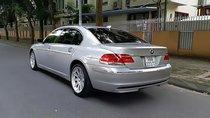 Cần bán lại xe BMW 7 Series 750Li sản xuất năm 2006, màu bạc, nhập khẩu nguyên chiếc, 740 triệu