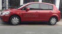 Gia đình bán gấp Nissan Tiida đời 2008, màu đỏ, nhập khẩu nguyên chiếc, giá 370tr