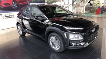 Xe Hyundai Kona màu đen bảng tiêu chuẩn giá chỉ 620tr, NH hỗ trợ vay 85%, lãi suất ưu đãi. LH: 0903175312