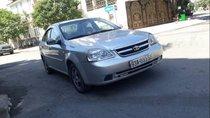 Cần bán lại xe Daewoo Lacetti đời 2009, màu bạc, 198tr