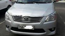 Bán Toyota Innova sản xuất 2013, màu bạc, xe nhập, số sàn