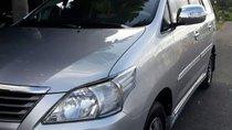 Cần bán lại xe Toyota Innova năm sản xuất 2012, màu bạc, nhập khẩu chính chủ