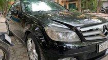 Bán Mercedes C300 AT 2011, màu đen, 635tr