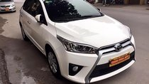 Bán xe Toyota Yaris G sản xuất 2016 nhập khẩu, máy xăng, dáng Hatchback, màu trắng, nội thất màu kem