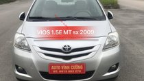 Bán Toyota Vios 1.5E MT sản xuất 2009, màu bạc