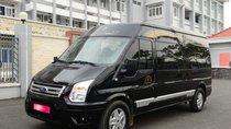 Cần bán Transit Limosin 2016, số sàn, máy dầu, màu đen,, mâm đúc