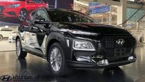 Bán xe Hyundai Kona sản xuất 2018 màu đen, giá chỉ 625 triệu