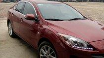 Bán Mazda 3 1.6 AT sản xuất 2014, màu đỏ ít sử dụng