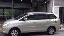 Cần bán Toyota Innova G năm sản xuất 2008, màu bạc xe gia đình, giá 375tr