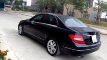 Bán Mercedes C200 1.8AT 2012, màu đen, nhập khẩu
