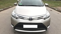 Bán Toyota Vios 1.5E MT đời 2017, màu vàng, giá chỉ 510 triệu