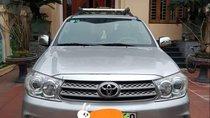 Cần bán xe Toyota Fortuner sản xuất năm 2010, màu bạc