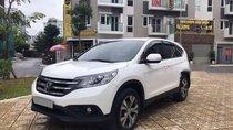 Bán Honda CR V 2.4AT sản xuất 2015, màu trắng, xe gia đình, giá tốt
